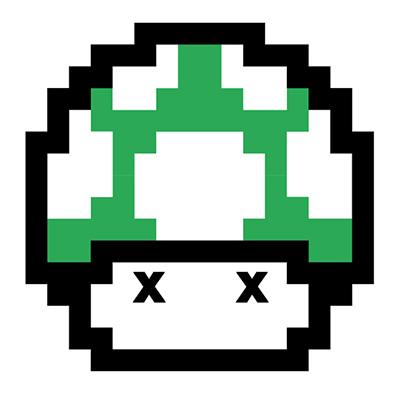 Mario mushroom sad
